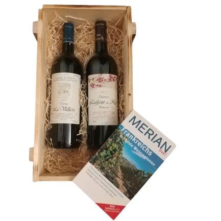 Exklusives Bordeaux Rotwein Probierpaket