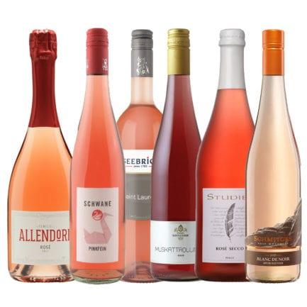 Pinot Rosé Sekt Brut, Pinkfein, Muskattrollinger Rosé, St. Laurent, Secco Rosé, Blanc de Noir