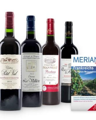 Rotwein Probierpaket – Bordeaux de Luxe