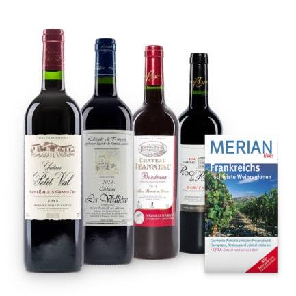 "Rotwein-Probierpaket ""Bordeaux de Luxe"""